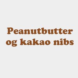 Peanutbutter og Kakao nibs