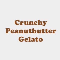 Crunchy peanutbutter gelato