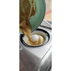 Dalgona gelato